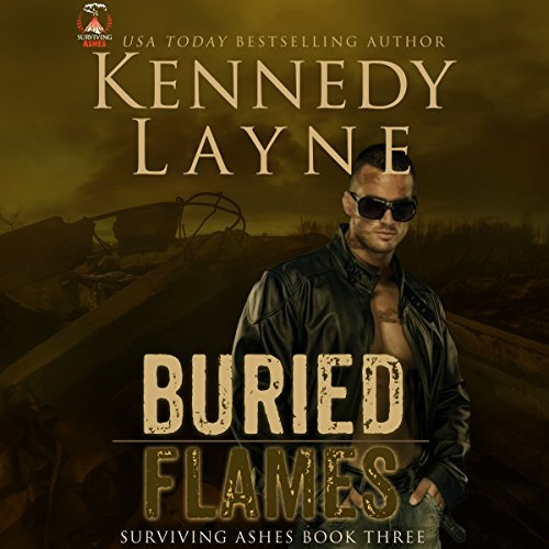 Buried Flames audiobook cover art