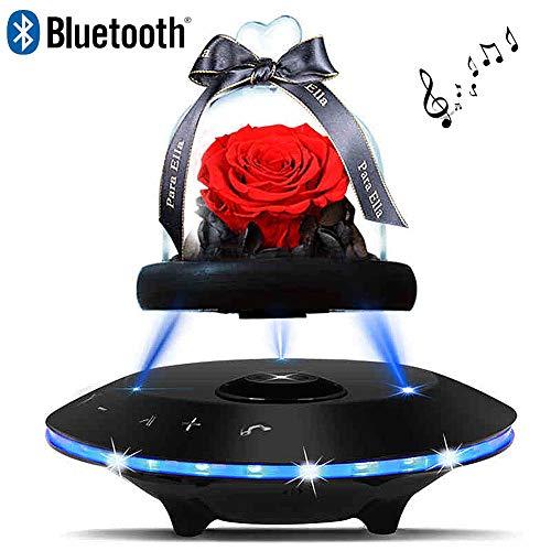LIRONG Eternal Rose Bluetooth luidspreker draadloze luidspreker geluidskaart kabel lantaarn zwart