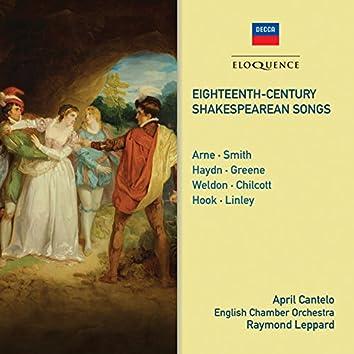 Eighteenth Century Shakespearean Songs