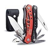 CampFENSE Taschenwerkzeug Multifunktionswerkzeug 12-IN-1 Multitool Messer Werkzeug Klappmesser Taschenmesser Klappmesser Angeln Schweizer Taschenmesser