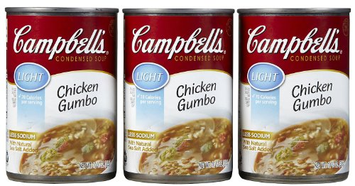 Campbells Lite Chicken Gumbo Soup