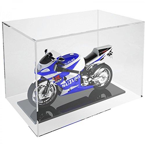 Avà srl Teca in plexiglass Trasparente 5 Lati Chiusi con Fondo Aperto - Misure: 30x20x H20 cm