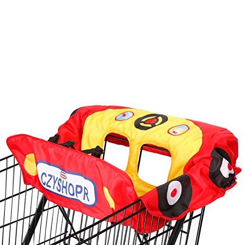 For Sale! Little Tikes Cozy Coupe Shopping Cart Cover, Red/Yellow/Blue (Discontinued by Manufacturer)
