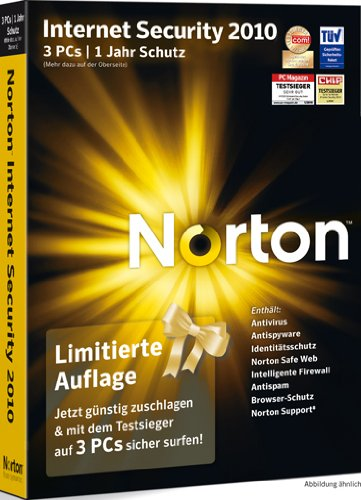 Norton Internet Security 2010 Limited Edition 3 PCs - deutsch [import allemand]