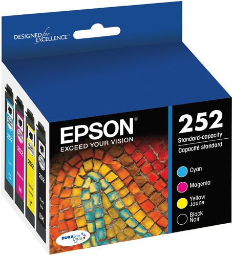 Epson T252120-BCS DURABrite Ultra Black & Color Combo Pack Standard Capacity Cartridge Ink,Black and Color Combo Pack Photo #6