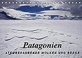 Patagonien: Atemberaubende Wolken und Berge (Tischkalender 2022 DIN A5 quer)