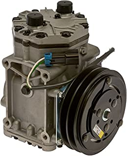 Brand New AC Compressor with Double V band clutch Fits ET210L Freightliner Kenworth Peterbilt York Style