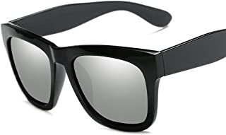 3933de24e4 Gafas de Sol polarizadas de Moda Personalidad Retro Marco Cuadrado Hombres  Mujeres de Sol (Color