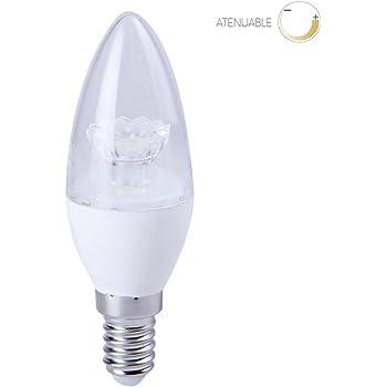 Tecnolite EICDE14-LED/001/30 - Foco LED Base E14, Luz Suave Cálida
