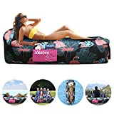 SOBROVO Inflatable Lounger, Air Sofa Lazy Carry Portable...