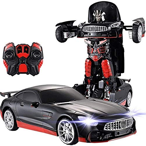 Great Price! Woote Remote Control 360 Speed Drifting Semi-Truck Deformation Robot 1:12 Truck Deforma...
