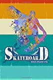 SKATEBOARD 2020 PLANNER MONTHLY & WEEKLY NOTEBOOK ORGANIZER: 6x9 inch (similar A5) calendar from DEC 2019 to JAN 2021 with monthly overview and weekly ... cover nice present for skater girls boys kids
