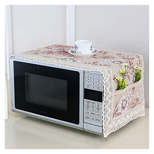 JINAN 1 housse de protection pour four à micro-ondes avec sac de rangement - Accessoires de cuisine - Décoration d'intérieur (couleur : 469896)