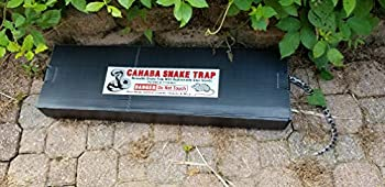 Snake Trap Large  Foldable Reusable 32 x10 x 3   with  1  Catch Insert Commercial Grade Made of strong corrugated plastic in Alabama USA