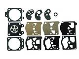 CTS Kit guarnizioni e membrana carburatore sostituisce Walbro D10-WAT per Echo Trimmer SRM 300AE soffiatore PB210E PB300E Stihl 031AV Husqvarna McCulloch Oleomac