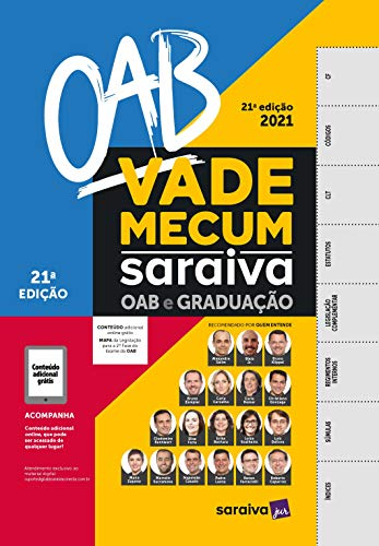Vade Mecum OAB e Graduação - 21ª Edição 2021