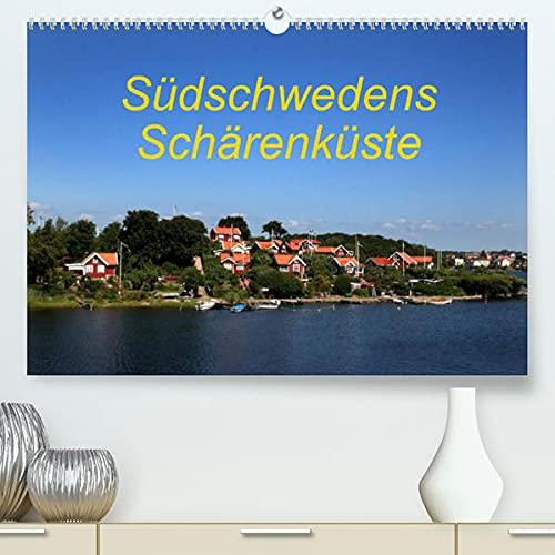 Südschwedens Schärenküste (Premium, hochwertiger DIN A2 Wandkalender 2022, Kunstdruck in Hochglanz): Eindrücke der Südschwedischen Schärenküste (Monatskalender, 14 Seiten )