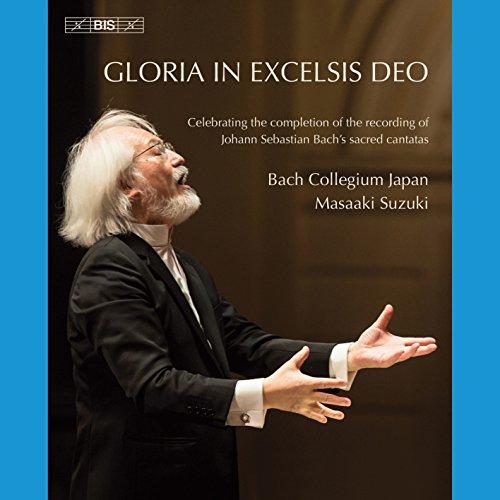 Gloria in excelsis Deo: Johann Sebastian Bach's sacred cantatas [Bach Collegium Japan; Masaaki Suzuki] [Bis: BIS2201] [Blu-ray] [Reino Unido]