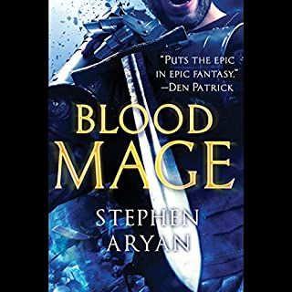 Bloodmage audiobook cover art