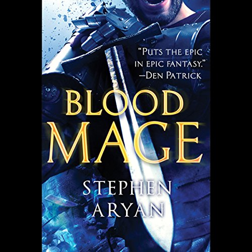 Bloodmage audiobook cover art