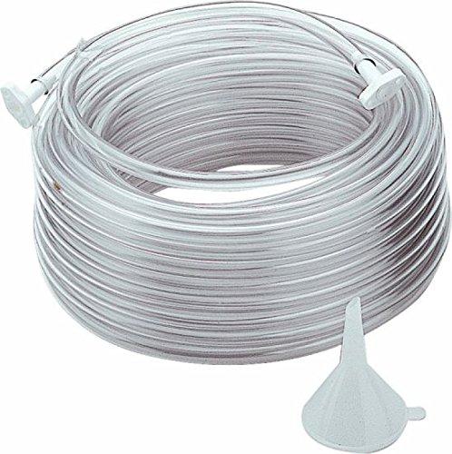 Triuso PVC-slang 30 m, met trechter en 2 stoppen.
