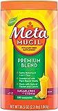 Metamucil Premium Blend, Natural Psyllium Husk Powder Fiber Supplement, Plant Based, Sugar-Free with Stevia, 4-in-1 Fiber for Digestive Health, Orange Flavored, 180 teaspoons (36.5 OZ Fiber Powder)