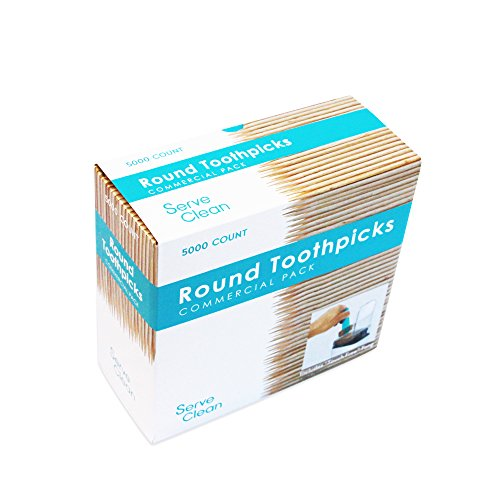 Serve Clean No Touch Toothpicks 5000 Count
