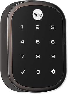 Yale YRD156-ZW2-0BP ProSL Key Free Z-Wave Plus Touchscreen Deadbolt, Oil Rubbed Bronze
