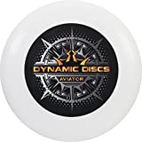 Dynamic Discs Aviator Ultimate Disc | 175g Ultimate Frisbee | Consistent and Predictably Flying Ultimate Frisbee Disc (Black/Orange)