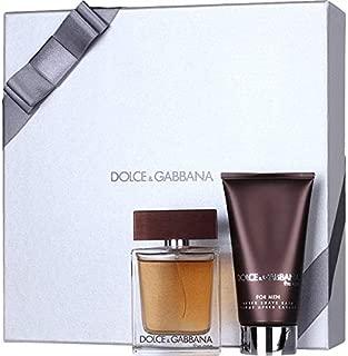 Dolce and Gabbana The One Man 2 Pieces Hardbox Set (1.7 Fluid Ounce Eau De Toilette Spray / 2.5 Fluid Ounce Aftershave Balm)