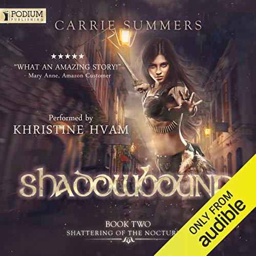 Shadowbound audiobook cover art