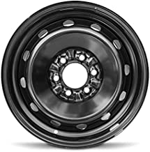 Road Ready Car Wheel For 2007-2014 Ford F150 2007-2016 Expedition Lincoln Navigator 17 Inch 6 Lug Black Steel Rim Fits R17 Tire - Exact OEM Replacement - Full-Size Spare