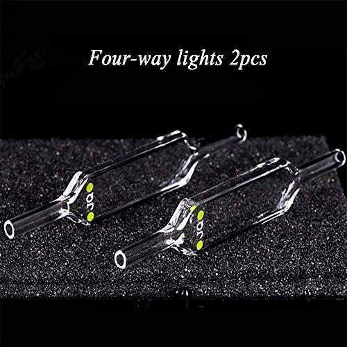 Nicekko 700ul Quartz Flow Cuvette voor Spectrofotometer, Optisch Pad 2 mm, Twee-weg Licht UV Colorimetrische Zwembad, 200nm-2500 nm Golflengte Bereik, Zuur En Alkali Resistant Lijm Proces