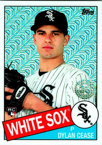 2020 Topps Silver Packs Series One Refractors #85C-10 Dylan Cease NM-MT RC Rookie Chicago White Sox Baseball MLB