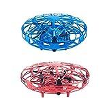 Conjunto de 2 Mini Suspensión UFO Drone de Niños de Multifuncional para Fácil de Usado