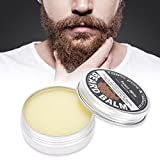 Beard Balm for Men, Mustache Butter, Beard Wax, Grooming Growth Cream Moisturizer and Softener Lotion Shaving Care, Styling Butter and Beard Cream for Man 60g