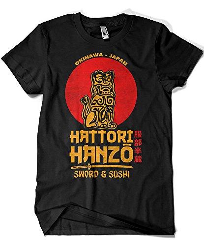 2242-Camiseta Premium, Hattori Hanzo (Melonseta) L