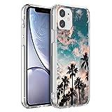 ZhuoFan für iPhone SE 2020/7 / 8 Generation Hülle, Ultra Dünn Silikon Clear Schutzhülle Stoßfest mit Muster Motiv Transparent Handyhülle Slim Weich TPU Cover Generation [4.7