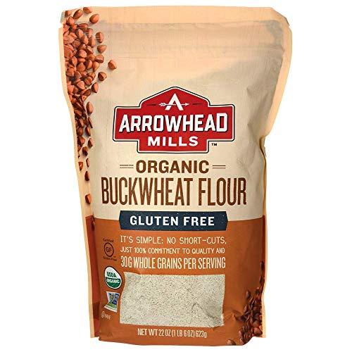 Arrowhead Mills Flour Buckwheat Organic, 22 oz