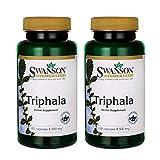 Swanson Triphala Cleanse Detox GI Tract 500 mg 100 Capsules (Caps) (2 Pack)