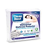 Clean Rest Fitted Mattress Cover, King