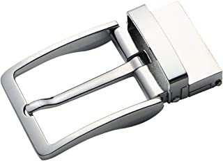 Lovoski Fashion Metal Single Prong Belt Buckle Rotated Buckle Casual Business Style