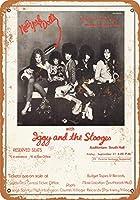 Shimaier 30×40cm 金属ブリキ看板ホーム装飾壁アート 1973 The New York Dolls in Memphis