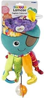 Lamaze Captain Calamari - Clip On Pram and Pushchair Newborn Baby Toy Octopus - Suitable from Birth