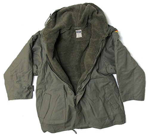 Military Uniform Supply Reproduction Bundeswehr German Army Parka with Liner - Large (52) Olive Drab