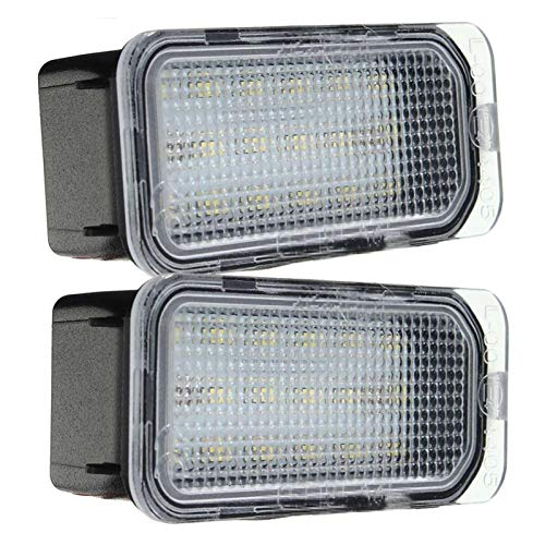 Useful Car License Plate Light Number License Plate LLamp Rear License Tag Lights For Ford FOCUS MK II FIESTA MK VII MONDEO MK IV KUGA S-MAX 2008-2019 Perfect Matching Parts