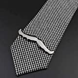 LinZX Man Novely Tie Clip Homme Bar Casual Clips Vélo Feuil