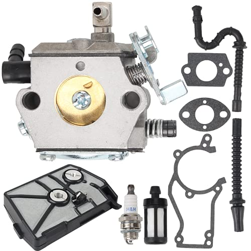 AUTOKAY WT-16B Carburetor Tune-Up Kits for Stihl 028 028AV 028 AV Super Wood Boss Chainsaw Replaces Stihl 1118 120 0600 1118 120 0601 Walbro WT-16B Tillotson HU-40