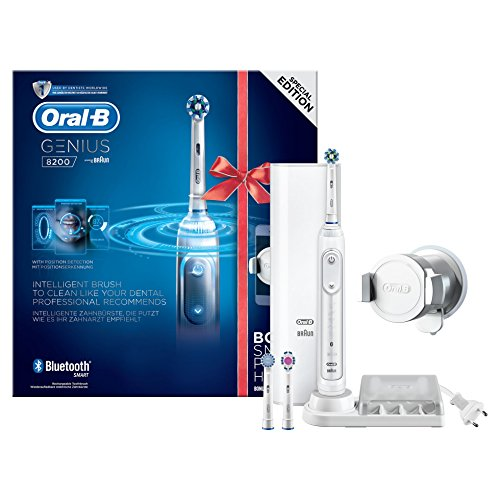Oral-B Genius 8200 white incl. smartphone holder
