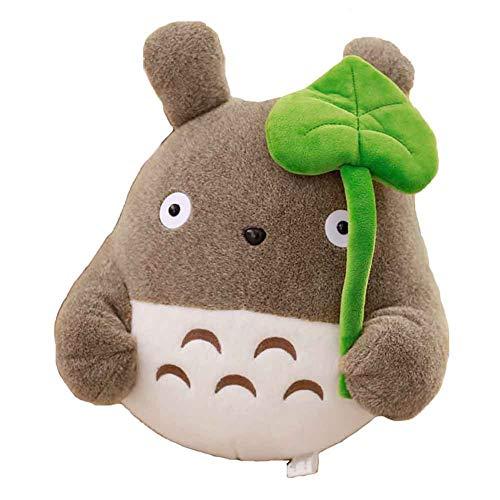 Cuthf Lotusblatt Mein Nachbar Totoro Ghibli Stofftier Plüschtier Kuscheltier Plüsch Weiche Kinder Geburtstag Kinder Mädchen Geschenke,35cm